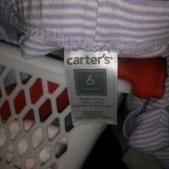 Hvilken størrelse tøj til nyfødt?