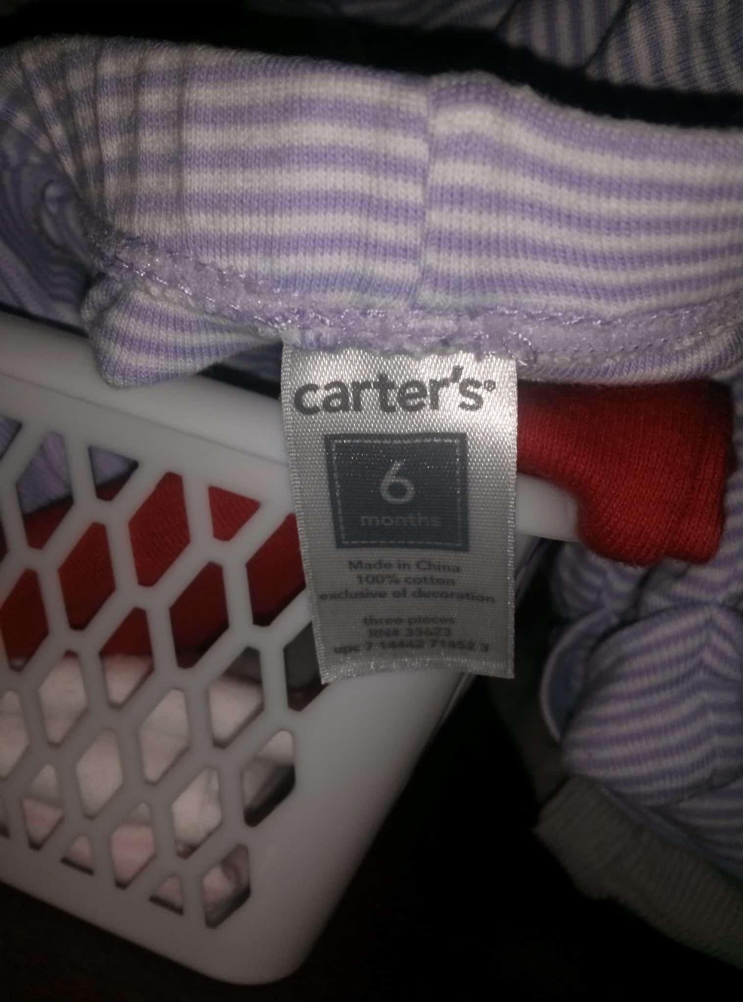 Tøjstørrelser til nyfødte