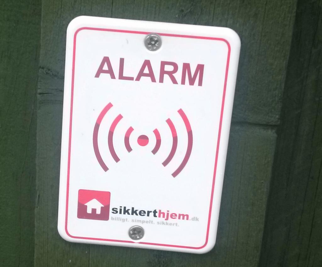 alarm til postkasse