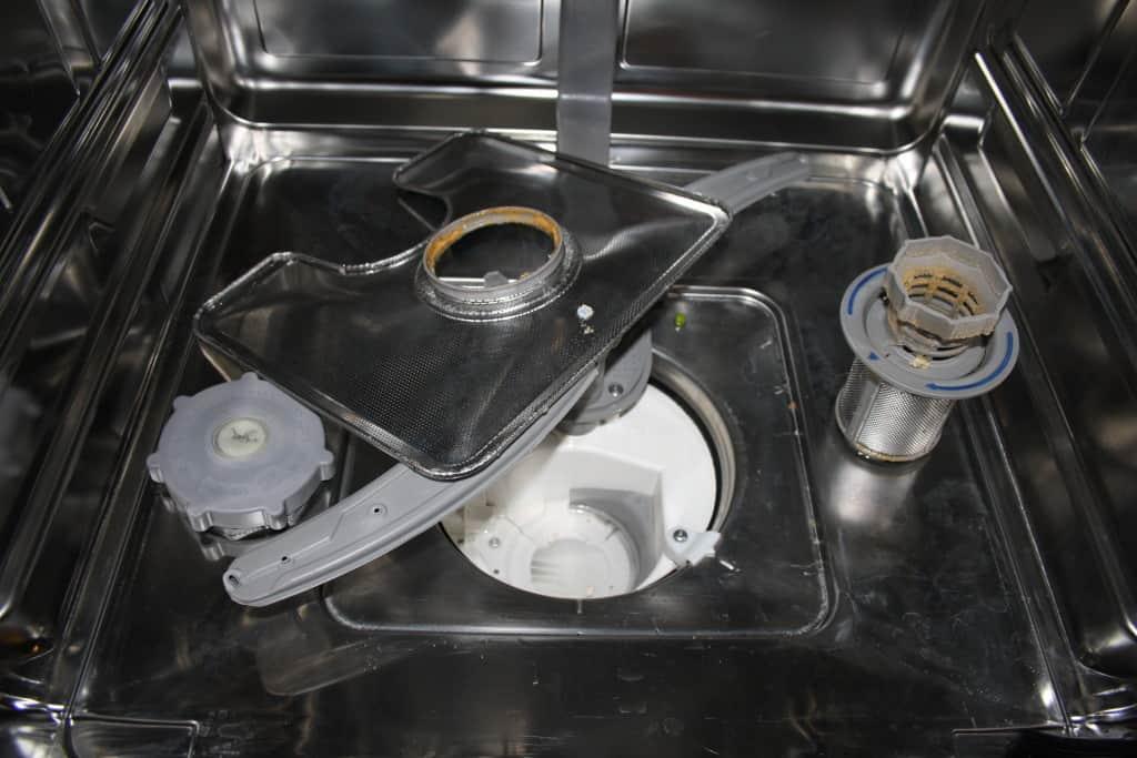 Beskidt opvaskemaskine