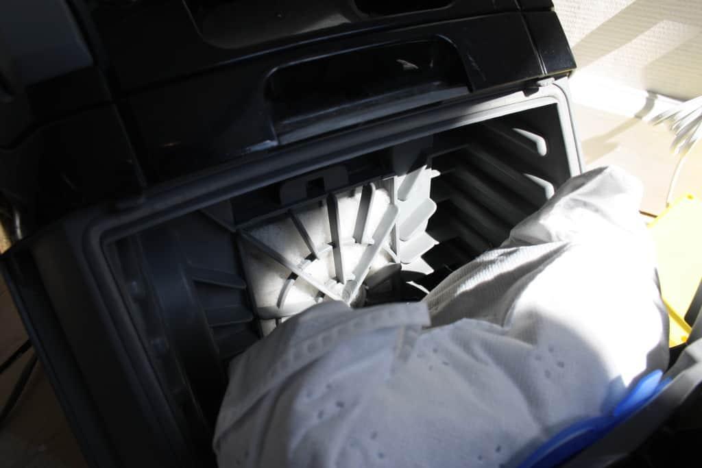 Motorfilter til støvsuger