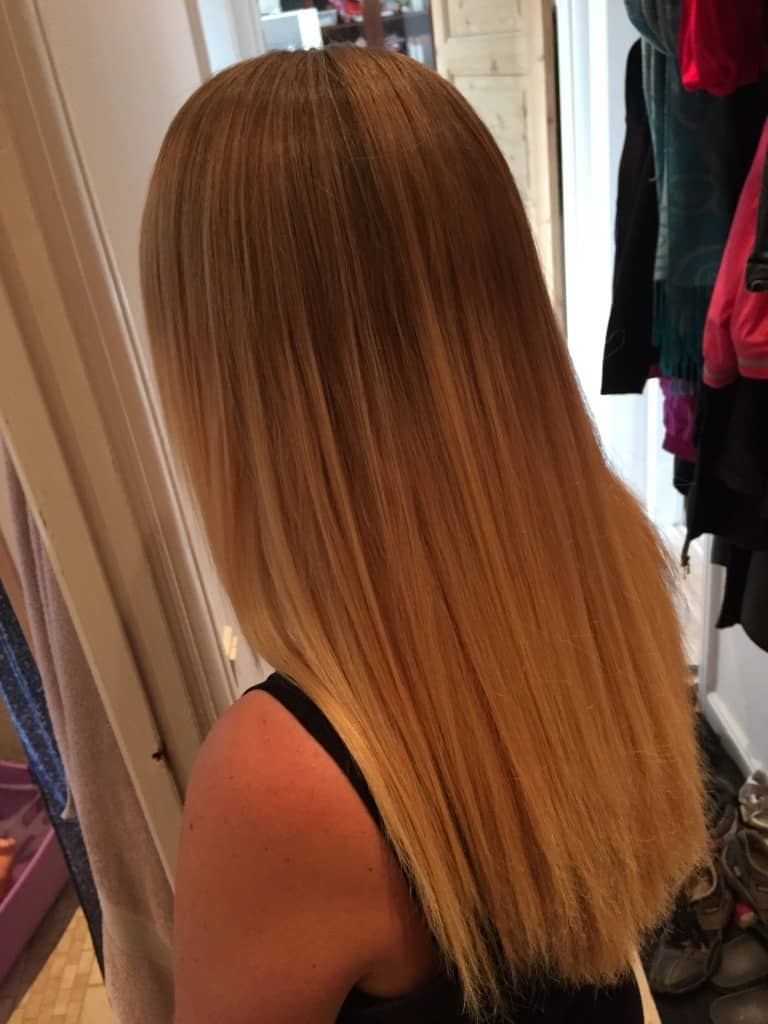 Glattet hår