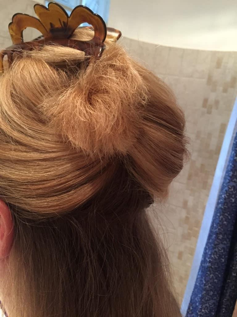 hårspænde til glatning af hår