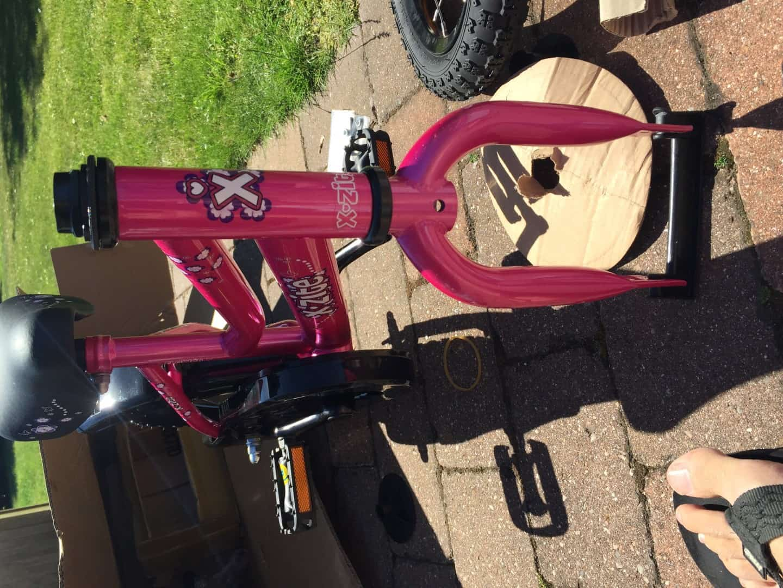 første cykel med pedaler