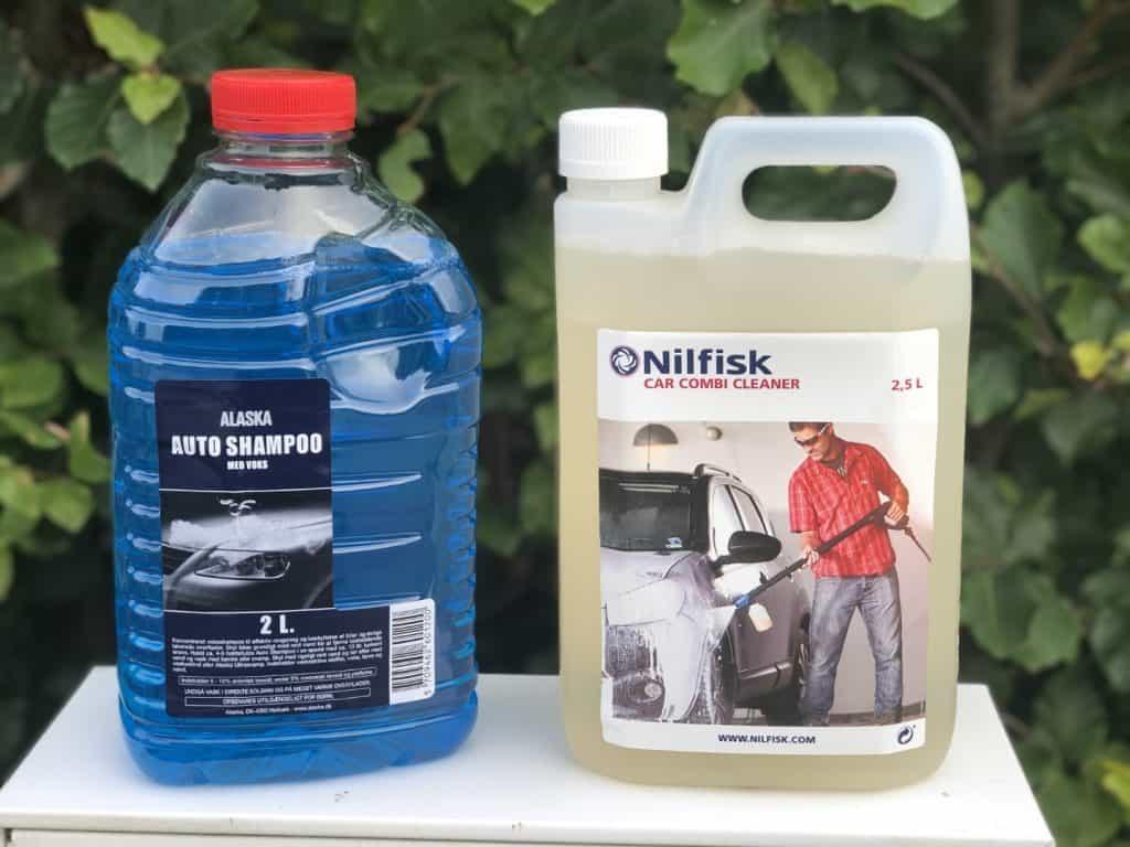 alaska vs nilfisk autoshampoo