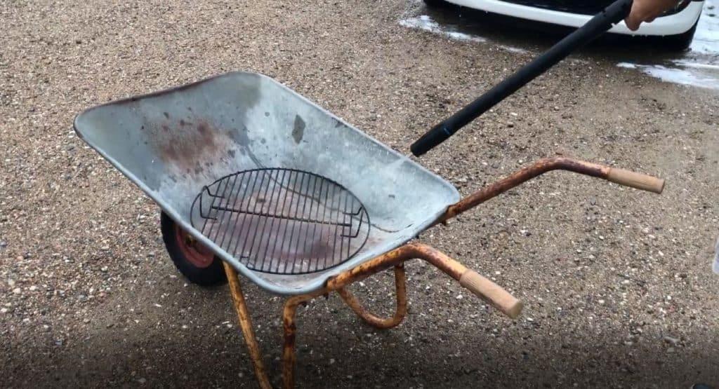 grill med højtryksrenser